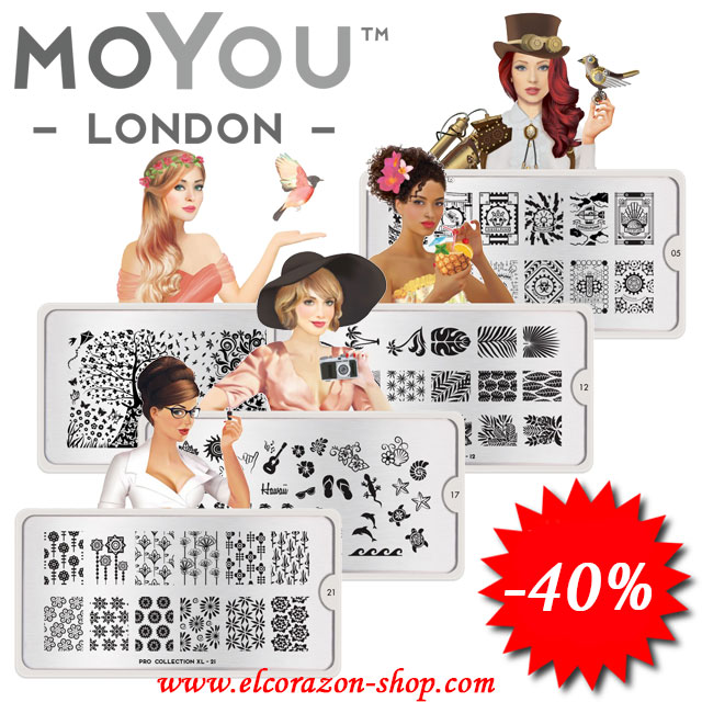 More stamping plates MoYou London with 40% discount!