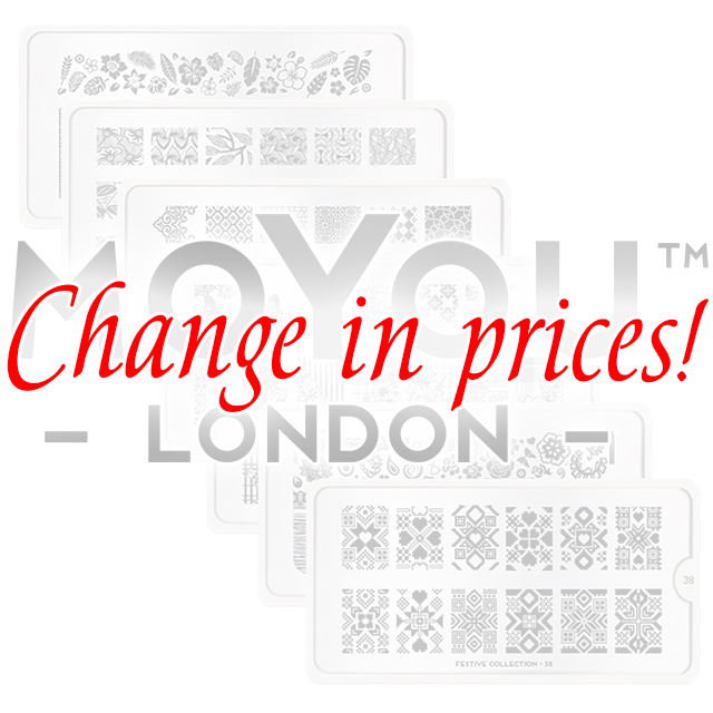 Change in prices of MoYou London