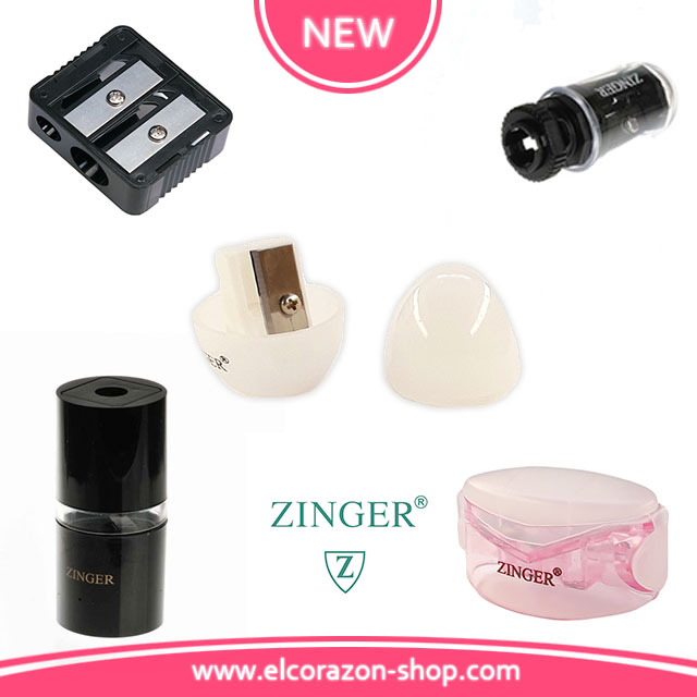 10 types of Zinger sharpeners for cosmetic pencils!