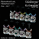 "New! Kaleidoscope Magnetic nail polishes ""Cat's eye""!"