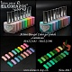 "New collection of glow in the dark nail polishes! El Corazon Active Bio-gel ""Luminous"""