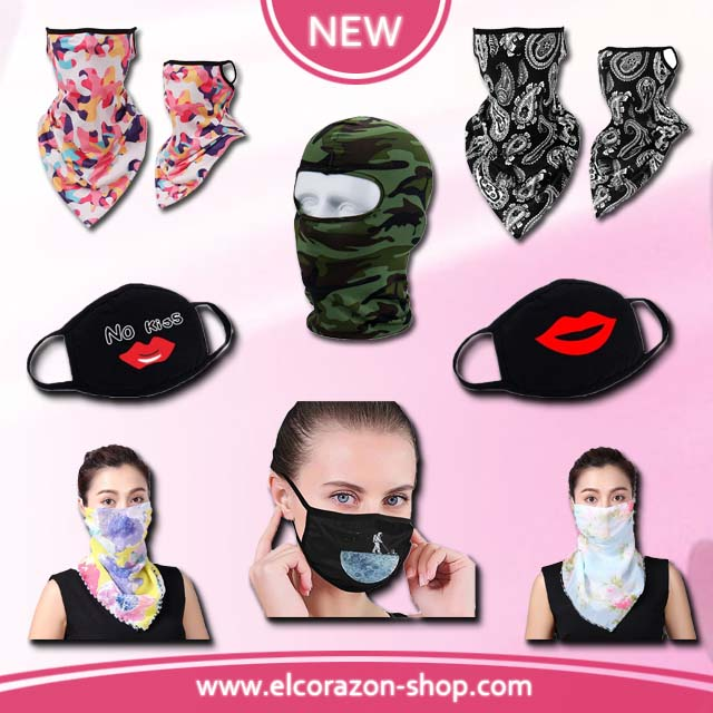 New reusable protective face mask!