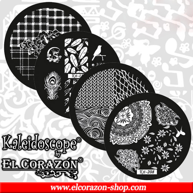 Price reduction on Kaleidoscope by El Corazon stamping disks!
