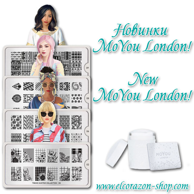 New MoYou London stamping plates and stamp!