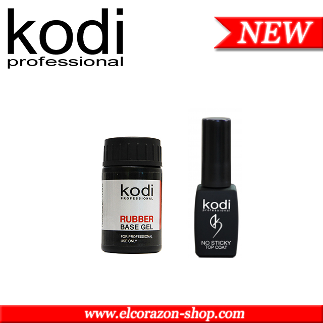 New! Kodi: Base and Top coats for gel polishes!