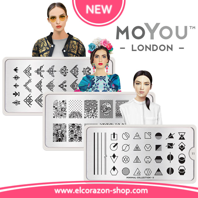 Restock and New MoYou London stamping plates!
