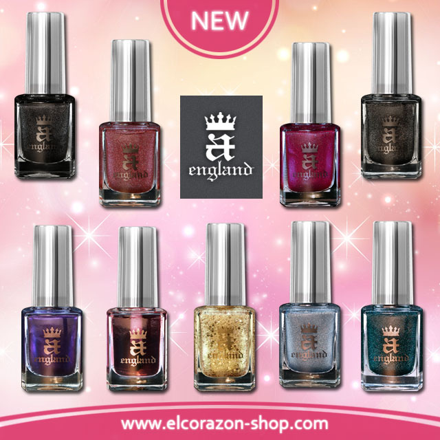 New A-England Nail polishes!
