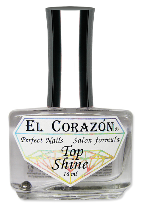 "картинка El Corazon Perfect Nails №410 Верхнее покрытие ""Top Shine"" 16 мл от магазина El Corazon"