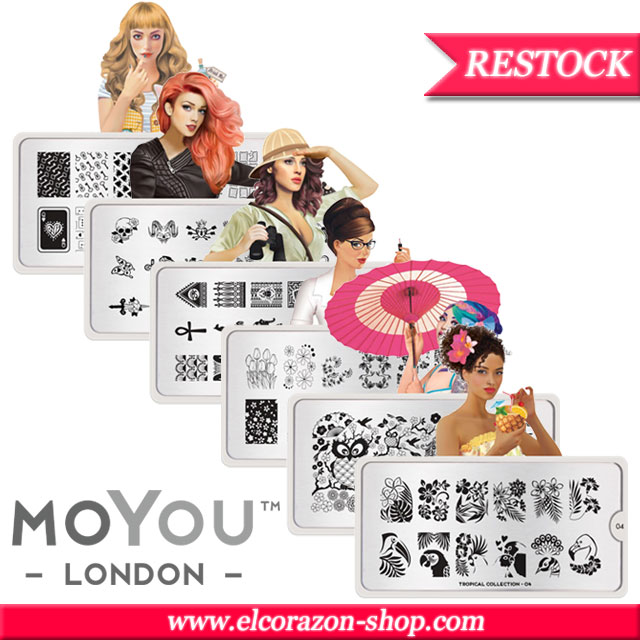 MoYou London stamping plates restock!