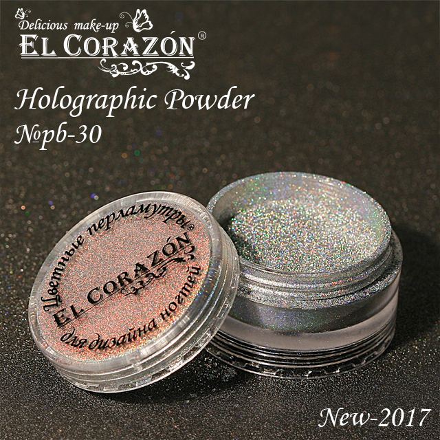 New! El Corazon holographic powder!