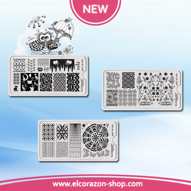 New EL Corazon steamping plates!