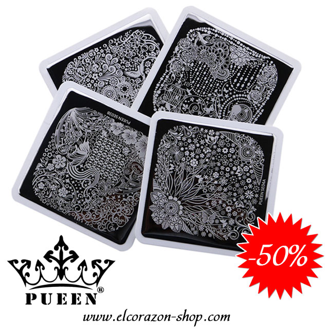 50% OFF on PUEEN Two-sided stamping plates!