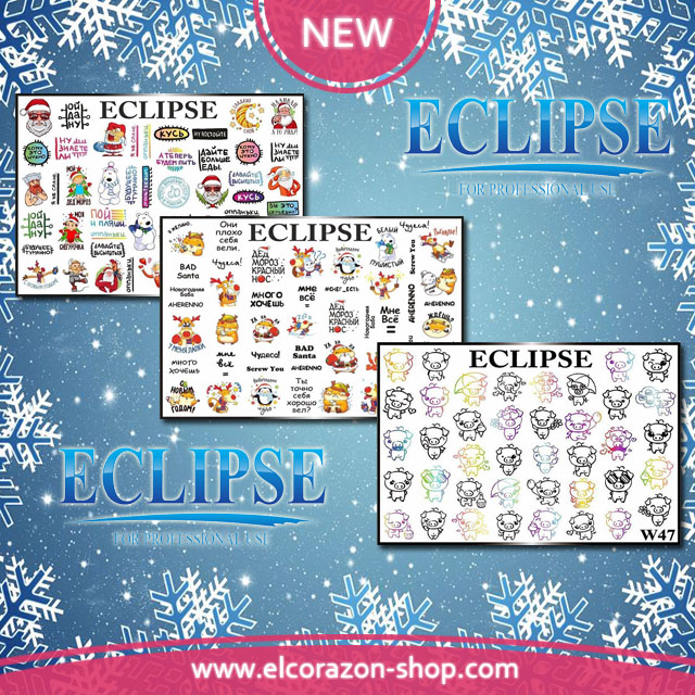New 3D Slider designs from the brand ECLIPSE!
