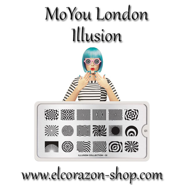 New stamping plates collection MoYou London Illusion!