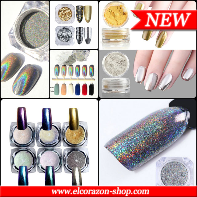 New! Pigments for nail design!