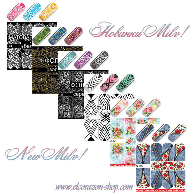 Restock and new arrivals of Milv water decals!