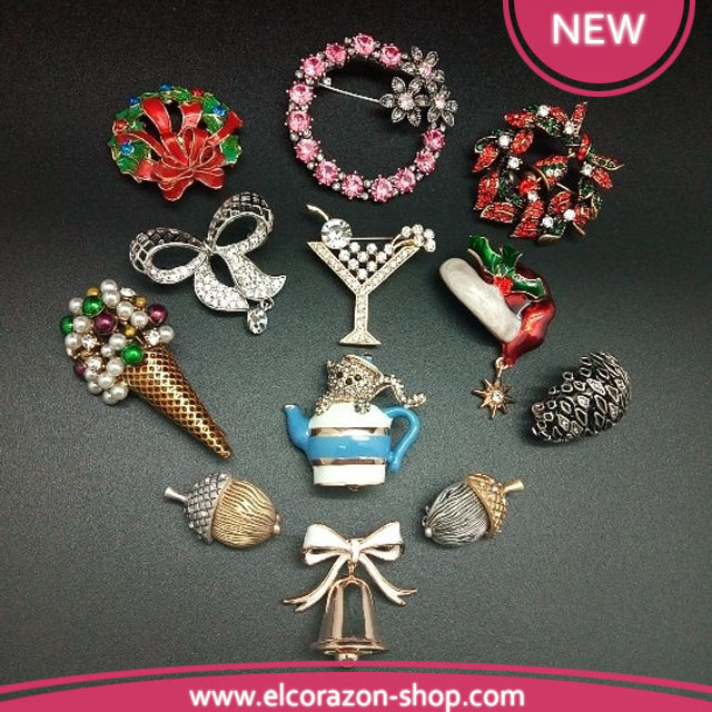 New in the section Brooches - Bestseller !!!