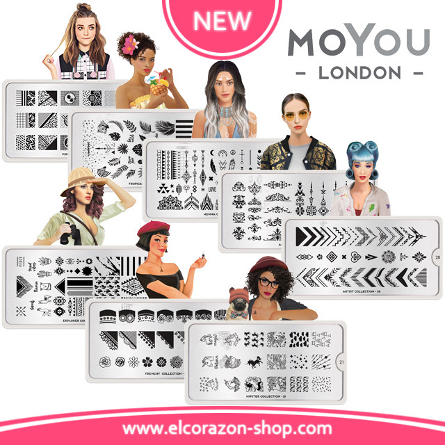 More MoYou London stamping plates!