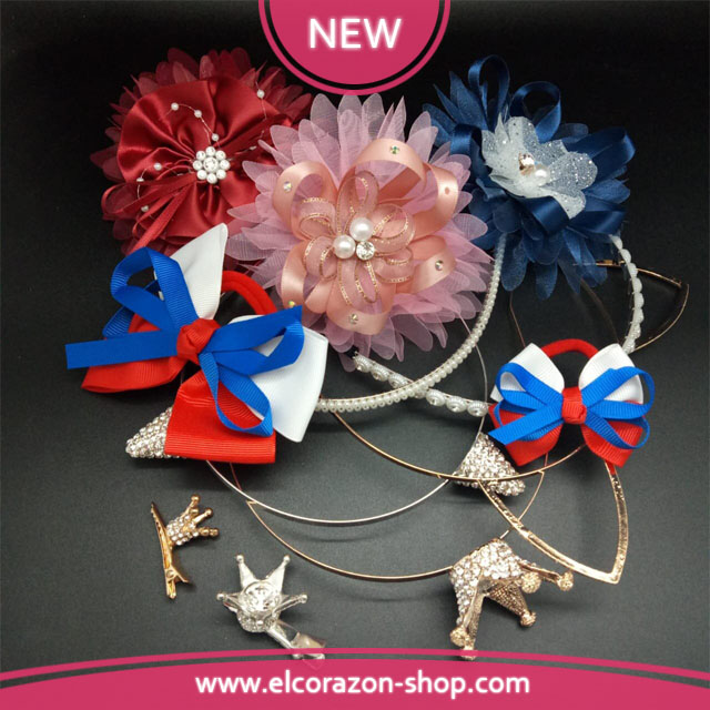 New Kids hair accessories!