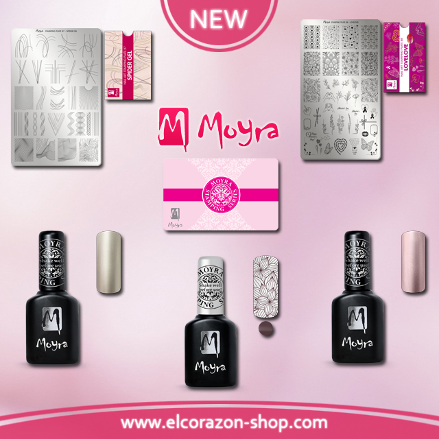 New and restock from Moyra !!!