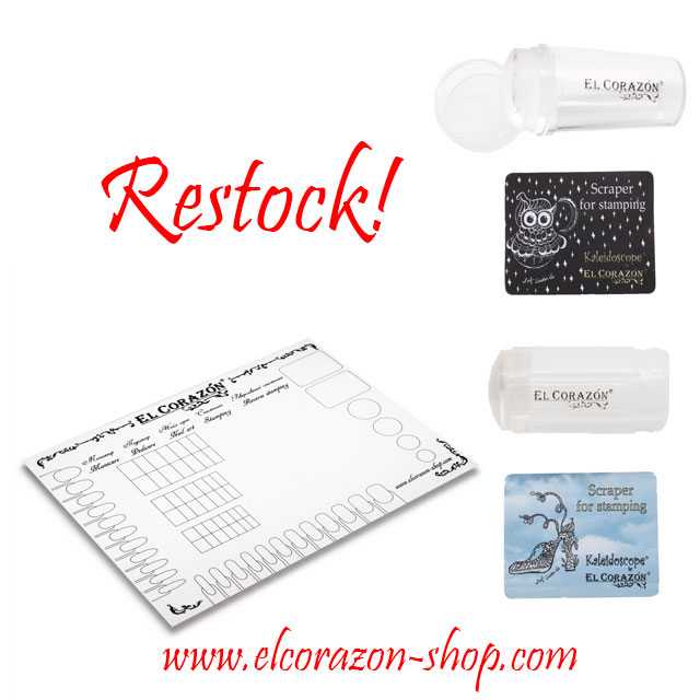 Restock: Mat for design & Transparent stamps
