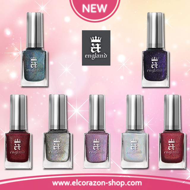 New nail polishes from A-England!