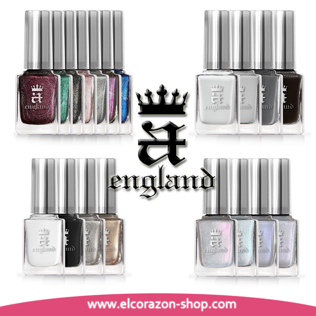 Arrival of 4 new collections of Bernd A-England varnishes!