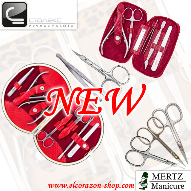 New! Staleks and Mertz manicure and pedicure tools!