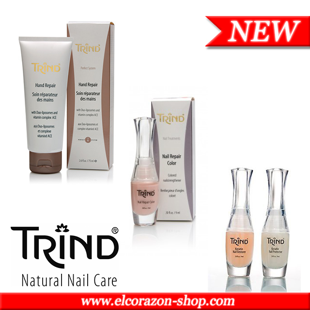 New! Trind: Nail Treatment & Hand Care!