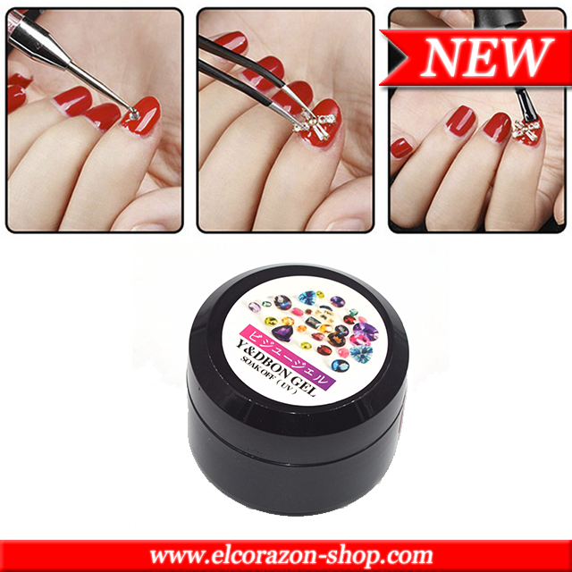 New! Rhinestones Glue Gel!