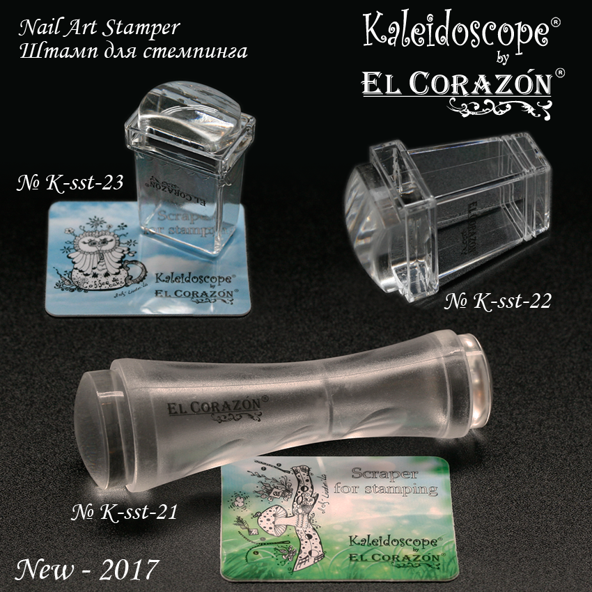 New El Corazon clear stampers!