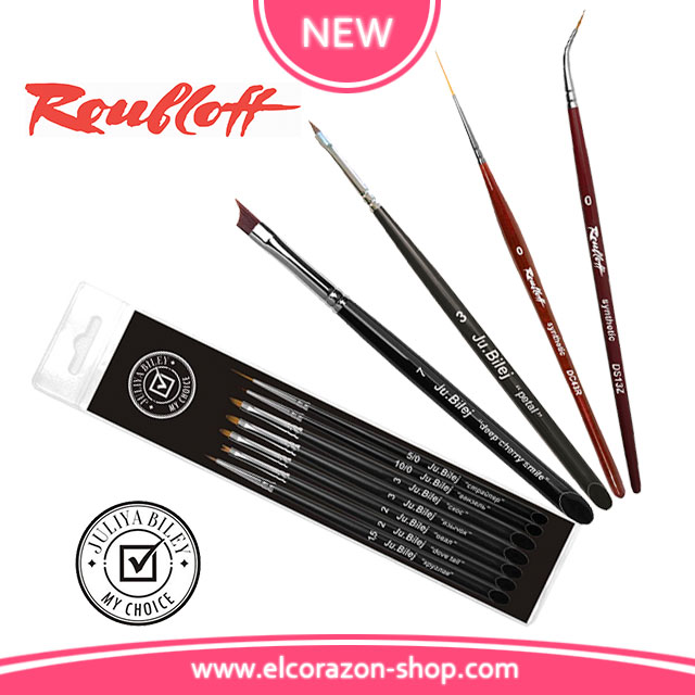 Restock and New Roubloff and Ju.Bilej professional brushes!