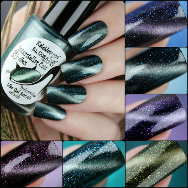 "New photos of new autumn-winter collection - Kaleidoscope by El Corazon ""Interstellar Cats""!"