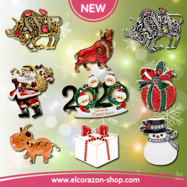 New New Year Brooches!
