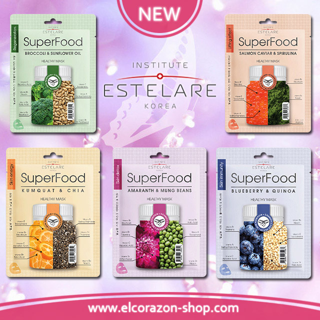 New fabric face masks from ESTELARE!
