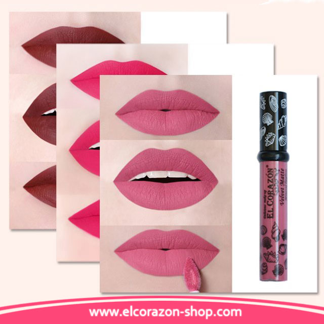 New photos of El Corazon Mineral Liquid Matte Lipsticks!