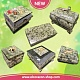 New! Jewelry boxes made of serpentine stone !!!